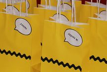 Charlie Brown party / Baby shower party decorations and favors