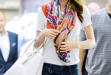 silk square scarves