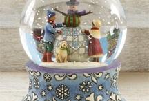Sneeuwbollen / Glazen bollen