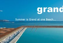 The Grand Beach / The Grand Beach Membership club invites you to enjoy an one-day-holiday at the Athens top-notch Beach. With a unique beachfront setting it features an exciting watersports centre  for a truly memorable friends & family  experience.