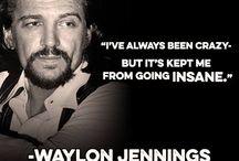 Waylon Jennings...outlaw...