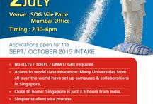 Singapore Admission Day / Study Overseas Global Singapore Admission Day.