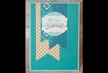 P&P - Geburtstagskarten (Stampin' Up!) / Handgemachte Papeterie