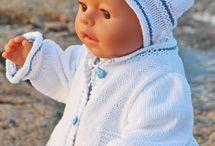 tricots poupée
