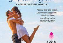 The Men in Uniform Series / My new series for Avon Impulse begins October 2015.