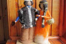 Esculturas textiles