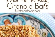 recipe - cokkies,bars, granola