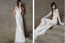 A-line wedding dress/A-line婚紗禮服