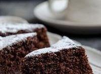 torta al latte caldo e cioccolato