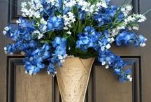 Wreaths/Door Decorations / by Brenda McIntyre