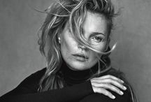 Kate Moss in Vogue Italia / Kate Moss makes a statement towards the re-touching debate with her latest Vogue Italia spread following the likes of Lara Stone for System magazine and Meaghan Kausman's fight against Photoshop; to name a few examples. http://www.ukmodels.co.uk/kate-moss-refuses-airbrushing-vogue-italia-editorial/
