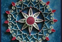 [inspiration] quilling / ♥