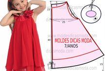 diseños para niña de 7 a 8 años