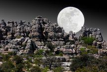 Natuurparken / Andalusië herbergt tal van uitgestrekte natuurparken