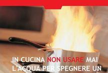Safe Tips / Safe Tips for safe home   Pratici consigli per una casa sicura #safe home #fire #homefire #extingua #incidentidomestici