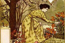 La Belle Jardiniere - Eugene Grasset (1896)