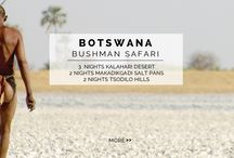 "Experience - Bushman Safari / Immerse yourself in accent culture with this ""dignified and sensitive"" Bushmen Safari. From spiritual dancing to cotton sheets and wildlife, this truly is the ultimate Botswana experience."