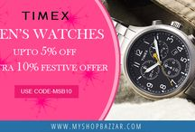 Choose the Best Men Watches from a Exquisite Collection at Myshopbazzar
