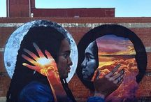 Mighty Murals of Newark / Brick City is known for its artistic, expressive, colorful, and vibrant murals on walls, buildings, streets, and bridges created by a variety of professional and amateur artists. We love to travel Newark hunting down these treasures!
