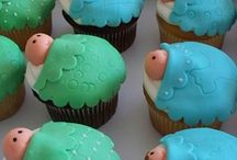 Baby Shower Cupcakes / Baby Shower Cupcakes-We put together this board and gathered some of the cutest baby shower cupcakes.  We hope this board inspires you to select the cutest baby shower cupcakes for your party. / by Modern Baby Shower Ideas