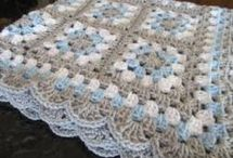 The Perfect Granny Square Banket~Crochet
