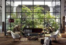 A h atrium / by marion S