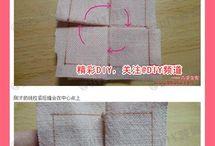 fabric origami