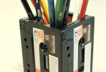 Reutilizar Cassetes/VHS/ Vinilos