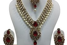 Gold Tone Kundan Bollywood Bridal