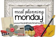 Meal Planning Monday / I meal plan for you every Monday...helping you use up all of your ingredients and save you time in the kitchen!  It's supper made simple!