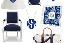 Love those Monograms! / by Faith Dupree- White
