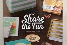 2015-2016 Stampin' Up! Catalog / Stampin' Up! New products and accessories in the catalog