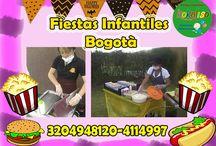 REFRIGERIOS PARA FIESTAS INFANTILES / Realizamos deliciosa comida y refrigerios para eventos infantiles llamanos has tus reservas y disfruta nuestras promociones 3204948120-4114997