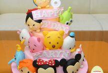 Disney Tsum Tsum cakes