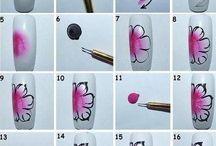 art flower step by step