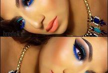Blue eyes orange lips 03/17