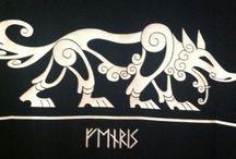 Vikinger, Nordisk Mytologi / Denne Pin er til ære for vores Nordiske guder