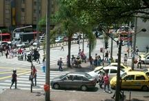 Día con y sin carro en Medellín  / Paralelo de un día normal con carros y el día sin carro.