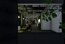 Warung Nesia - Jawa Timur / Theme: Industrial Cafe