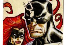Comic art 31=King Black Bolt and Queen Medusa-