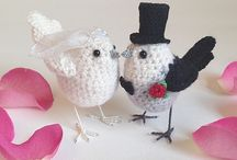 Weddings and bridal / Handmade, custom wedding accessories, gifts and wedding cake toppers to celebrate and commemorate your special day, from Freshly Knitted