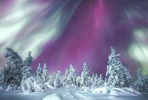 Revontulet (Aurora borealis)