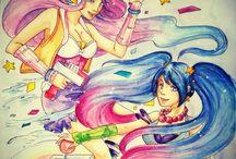 my artwork / my artwork, sketches, sketchbooks, watercolors, etchings, linocuts