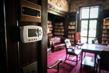 Smart Home Automatiion / Control and automation of lighting, heating (such as smart thermostats), ventilation, air conditioning (HVAC), and security, as well as home appliances such as washer/dryers, ovens or refrigerators/freezers that use wifi for remote monitoring