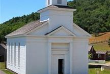 The Farmers' Museum / Cornwallville Church | Cooperstown, NY