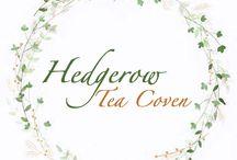 Hedgerow Tea Coven / bacheca ispirazionale per il progetto in collaborazione Hedge Tea Coven