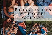 Posing Family - older children