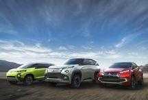 Mitsubishi Concept Vehicles / Mitsubishi Motors Corporation (MMC) unveil three world premiere concept cars at the 43rd Tokyo Motor Show 2013.