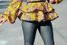 Afrikaanse blousejes