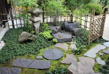 Boedha garden idee `s / tuin idee met BOEDHA`S